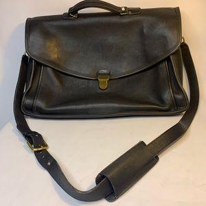 Coach Vintage Morgan Briefcase/Unisex Black